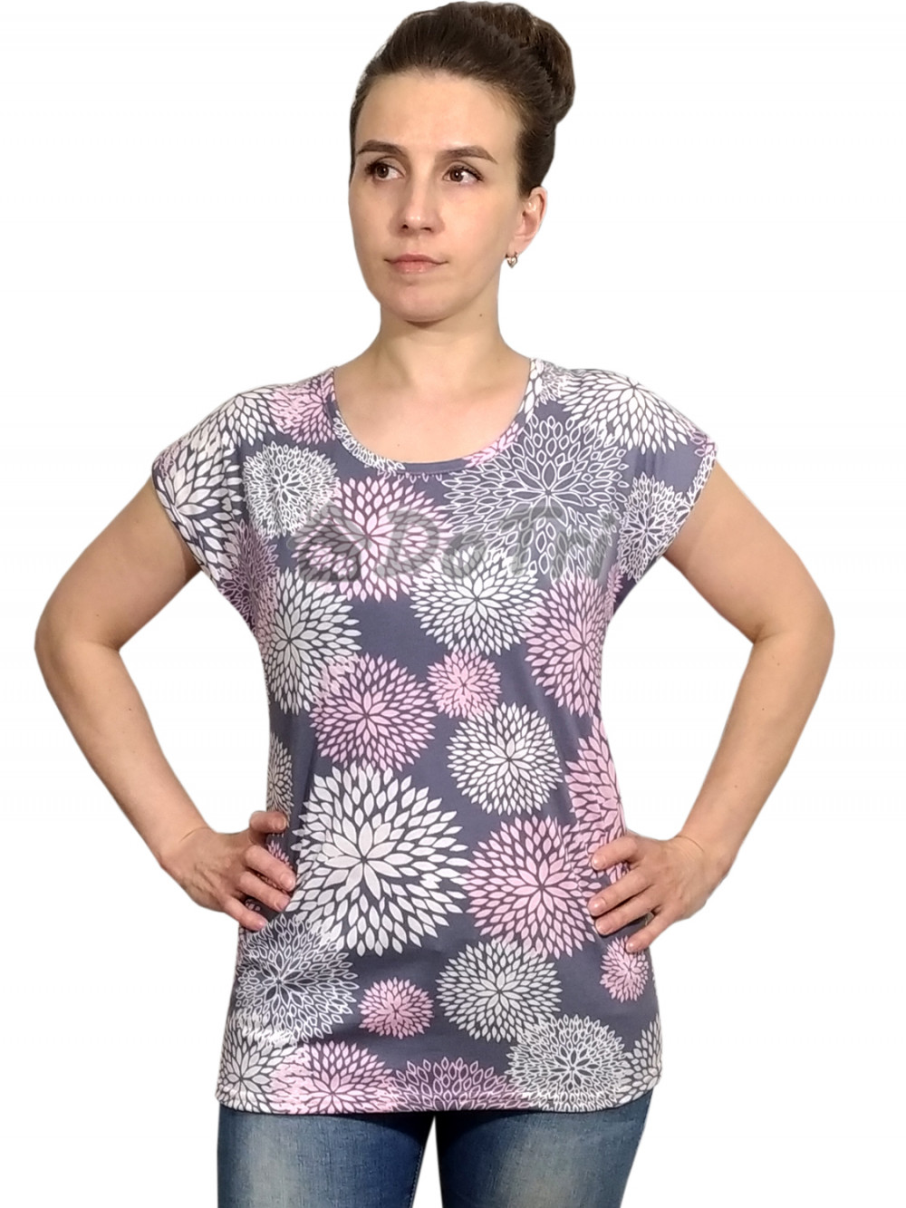 Увеличить - Блузка «Прима» арт 048 одуванчики