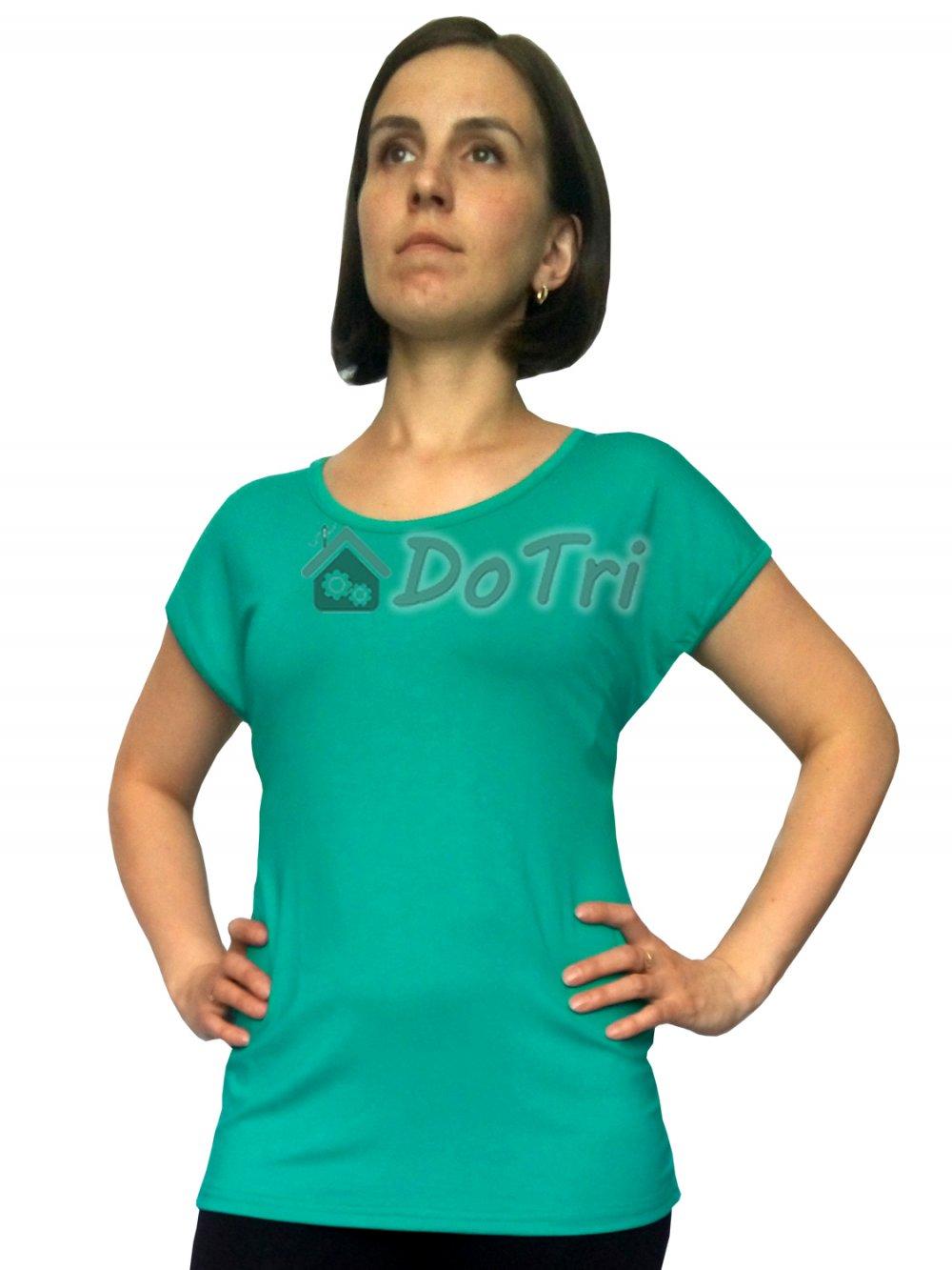 Увеличить - Блузка «Натусик» зеленая