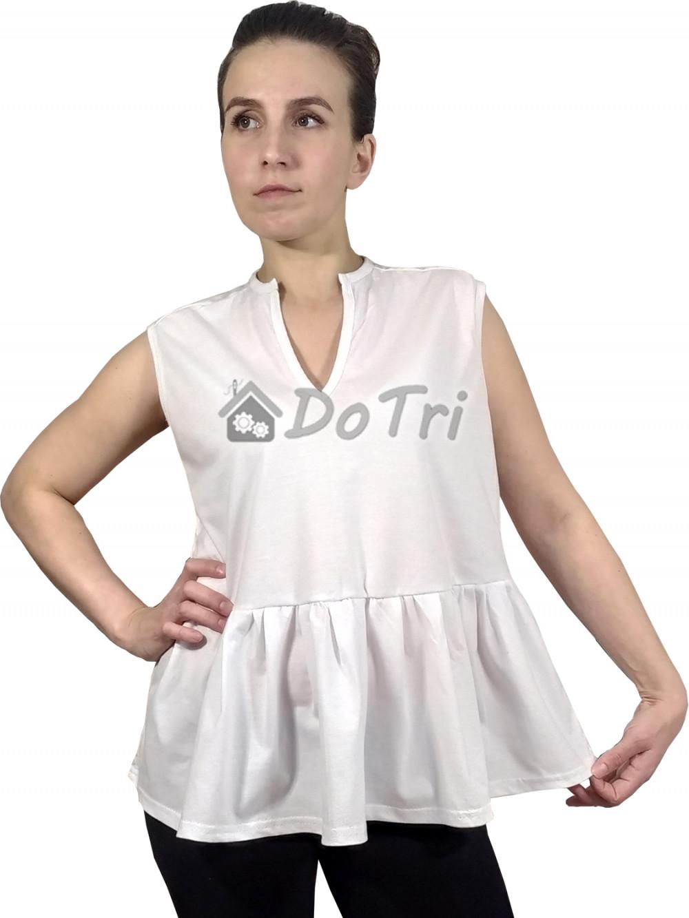 Увеличить - Блузка с баской «Верона»