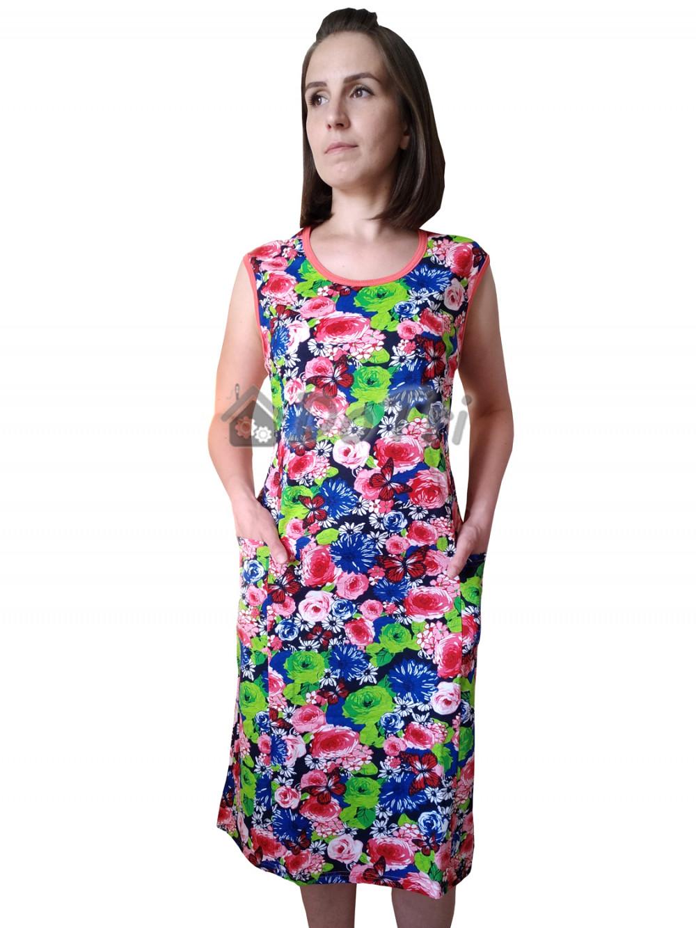 Увеличить - Платье арт 010 розы и бабочки, распродажа