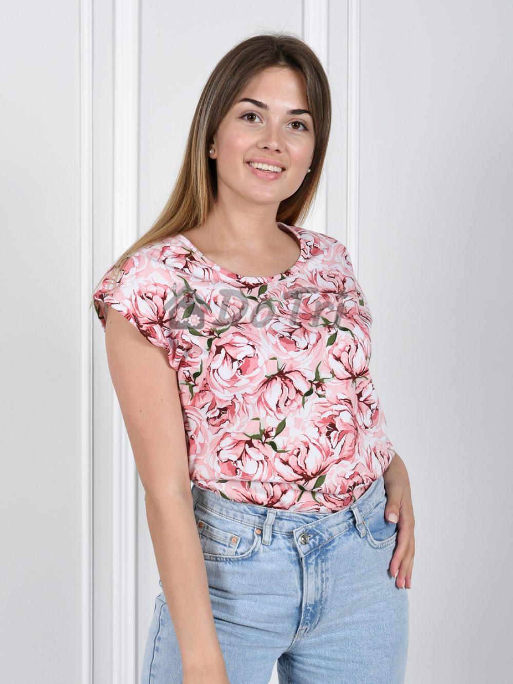 Увеличить - Блуза «Прима» арт 055 розовая