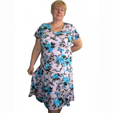 Платье «Модель №1» арт 002 вискоза