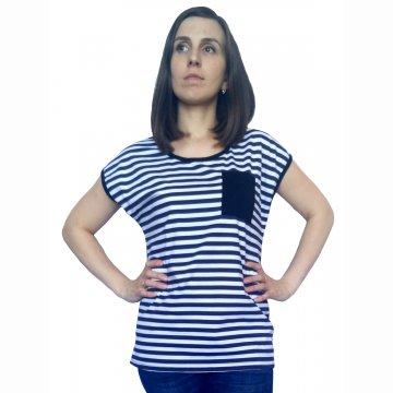 Блуза «Морячка с карманом»