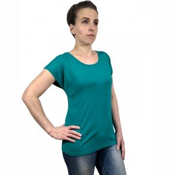 Блузка «Натусик» зеленая