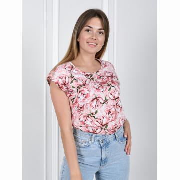 Блуза «Прима» арт 055 розовая